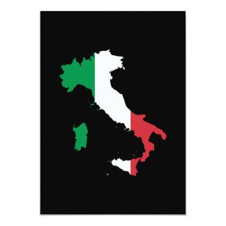 旗色のイタリア カード