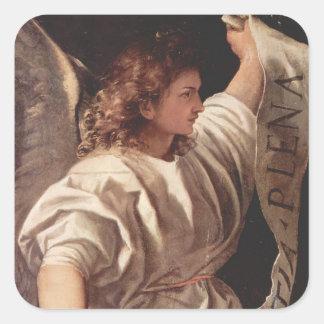 旗1522年との天使 スクエアシール