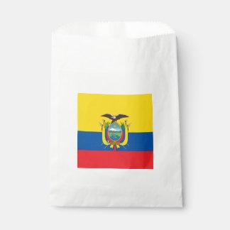 旗: エクアドル フェイバーバッグ