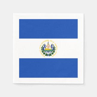 旗: エルサルバドル スタンダードカクテルナプキン