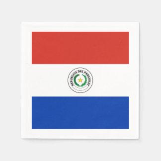 旗: パラグアイ スタンダードカクテルナプキン