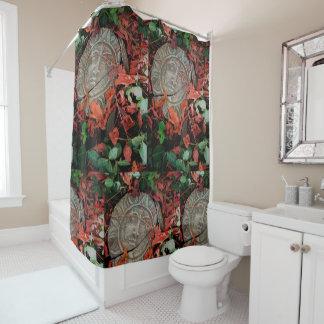 日が差すことのシャワー・カーテン シャワーカーテン