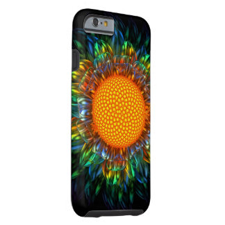 日が差すことのデイジーの堅い例(iPhone6ケース) ケース