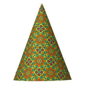 日が差すことの万華鏡のように千変万化するパターンのカスタマイズ可能なパーティーの帽子 パーティーハット