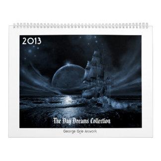 日によってはコレクション2013年が夢を見ます カレンダー