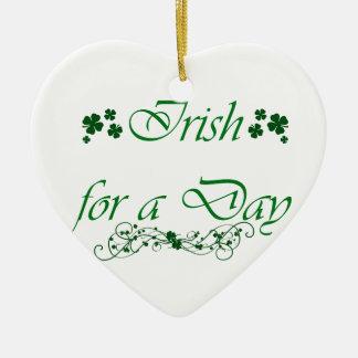 日のオーナメントのためのアイルランド語 セラミックオーナメント