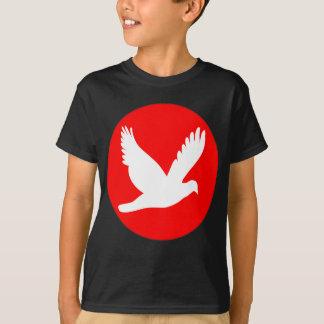 日の丸&鳩.png tシャツ