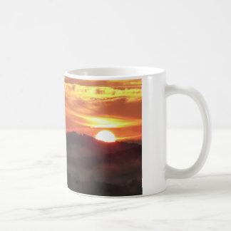 日の出のコーヒー コーヒーマグカップ