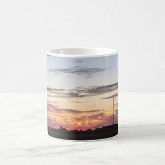 日の出のコーヒー・マグ コーヒーマグカップ
