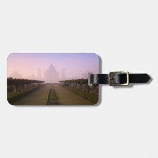 日の出のタージ・マハルの眺め ラゲッジタグ