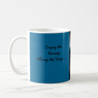 日の出のデマ コーヒーマグカップ