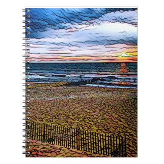日の出のノート ノートブック
