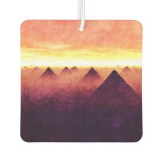 日の出のピラミッド カーエアーフレッシュナー
