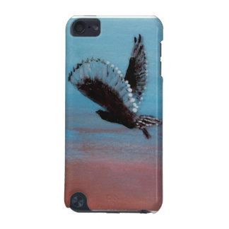 日の出のフクロウの鳥の芸術 iPod TOUCH 5G ケース