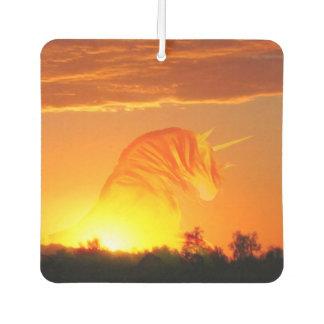 日の出のユニコーン カーエアーフレッシュナー