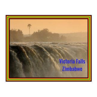 日の出の主要な滝 ポストカード
