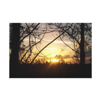 日の出の平静 キャンバスプリント