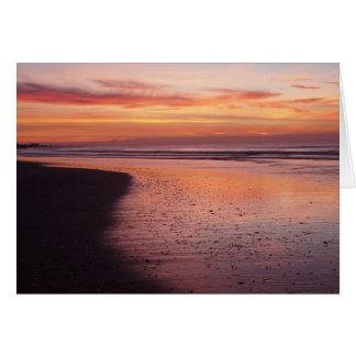 日の出の朝 カード