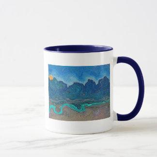 日の出の朝 マグカップ