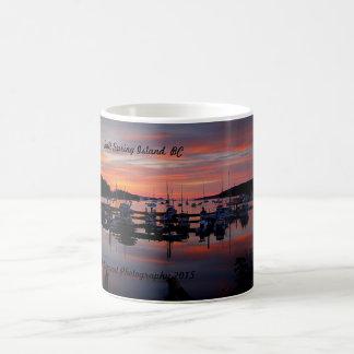 日の出の歓喜 コーヒーマグカップ