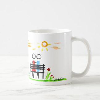 日の出の着席 コーヒーマグカップ