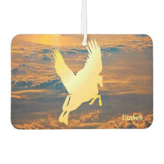 日の出の芳香剤へのペガソスの飛行 カーエアーフレッシュナー