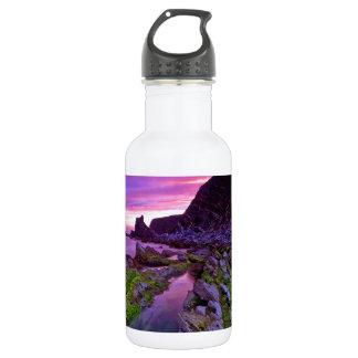 日の出の薄い紫色 ウォーターボトル
