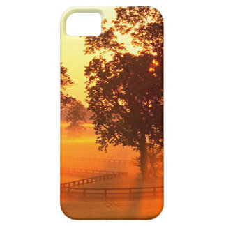 日の出の馬の農場バーセイルズケンタッキー iPhone SE/5/5s ケース