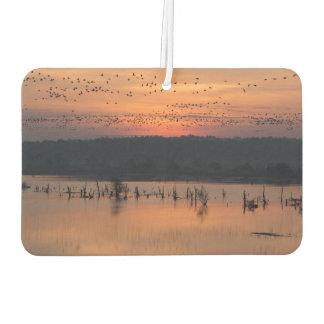 日の出の鳥 カーエアーフレッシュナー