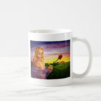 日の出のCheryl コーヒーマグカップ