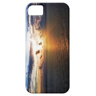 日の出のIphoneのカリブのな場合 iPhone SE/5/5s ケース