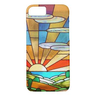 日の出のiPhoneカバー iPhone 7ケース