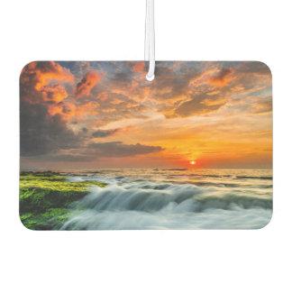 日の出のManyarのビーチ カーエアーフレッシュナー