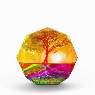 日の出生命の樹 表彰盾