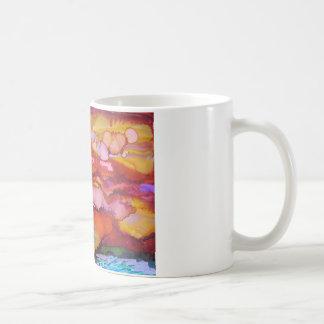 日の出、おはよう コーヒーマグカップ