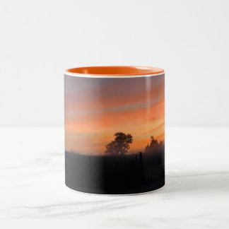 日の出 ツートーンマグカップ