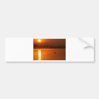 日の出 バンパーステッカー