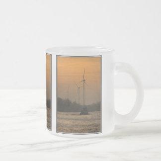 日の出 フロストグラスマグカップ