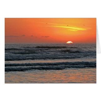 日の出-新年2011年 カード