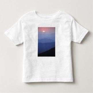 日の出、素晴らしい南アパラチア山脈 トドラーTシャツ