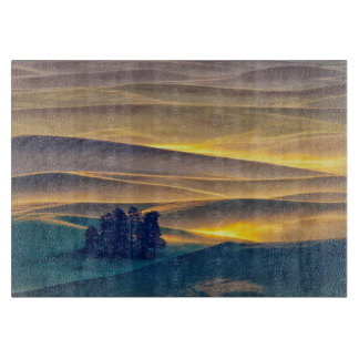 日の出| WAのムギのローリング・ヒルズ カッティングボード