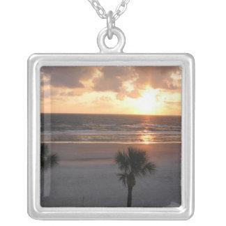 日の出Palm Beach シルバープレートネックレス