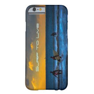 日の最後の波 BARELY THERE iPhone 6 ケース