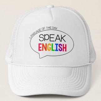日の言語-英語の先生の帽子 キャップ