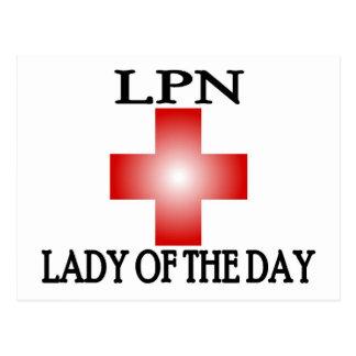 日のLPN女性 ポストカード
