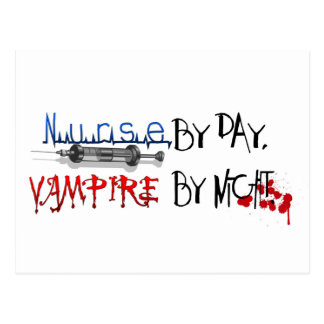 日までにナース、夜までに吸血鬼 ポストカード