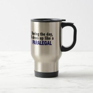 日中私はパラリーガルのように服を着ます トラベルマグ
