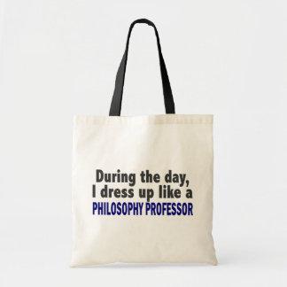日中私は哲学教授に服を着せます トートバッグ