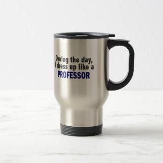 日中私は教授のように服を着ます トラベルマグ