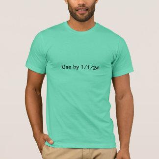 日付がついた材料 Tシャツ